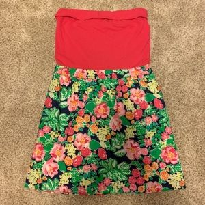 NWOT Lilly Pulitzer Strapless Dress